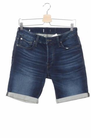 Pantaloni scurți de bărbați Jack & Jones, Mărime S, Culoare Albastru, Preț 110,53 Lei