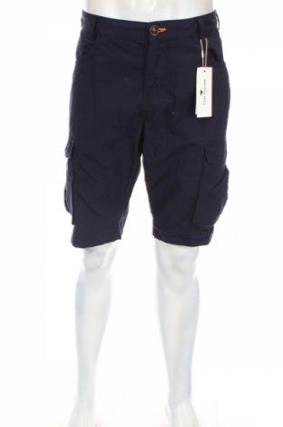 Мъжки къс панталон Tom Tailor, Размер L, Цвят Син, 100% памук, Цена 52,00лв.