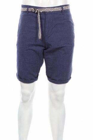 Мъжки къс панталон Tom Tailor, Размер L, Цвят Син, 100% памук, Цена 35,28лв.