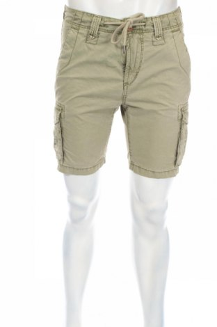 Мъжки къс панталон Tom Tailor, Размер S, Цвят Зелен, 100% памук, Цена 37,44лв.
