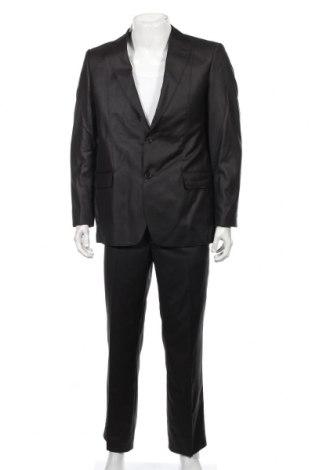 Мъжки костюм Richter, Размер M, Цвят Черен, 65% полиестер, 35% вискоза, Цена 83,20лв.