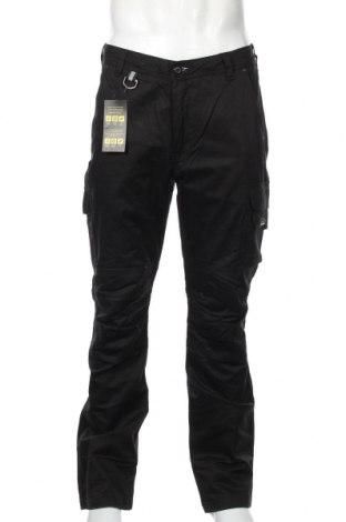 Ανδρικό παντελόνι, Μέγεθος L, Χρώμα Μαύρο, Βαμβάκι, Τιμή 24,19€