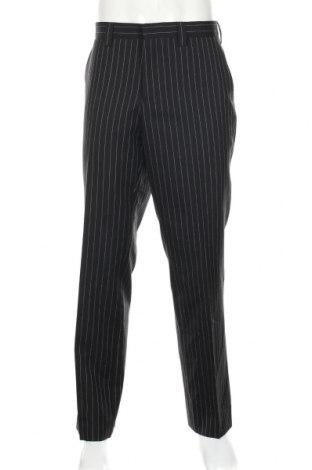Pánské kalhoty , Rozměr L, Barva Černá, 65% polyester, 35% vlna, Cena  437,00Kč