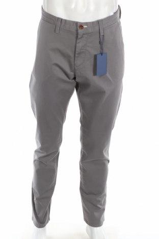 Мъжки панталон Gant, Размер L, Цвят Сив, 98% памук, 2% еластан, Цена 48,65лв.