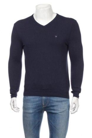 Ανδρικό πουλόβερ Guess, Μέγεθος S, Χρώμα Μπλέ, 77% βαμβάκι, 23% πολυαμίδη, Τιμή 28,87€