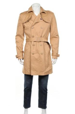 Pánský přechodný kabát  Modern Amusement, Rozměr L, Barva Béžová, 98% bavlna, 2% elastan, Cena  667,00Kč