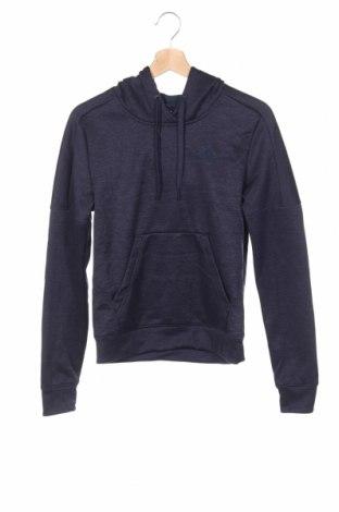 Γυναικείο φούτερ Adidas, Μέγεθος XS, Χρώμα Βιολετί, Πολυεστέρας, Τιμή 25,92€