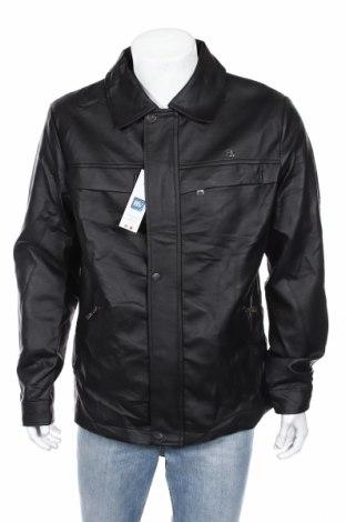 Pánská kožená bunda , Rozměr L, Barva Černá, Eko kůže, Cena  1234,00Kč