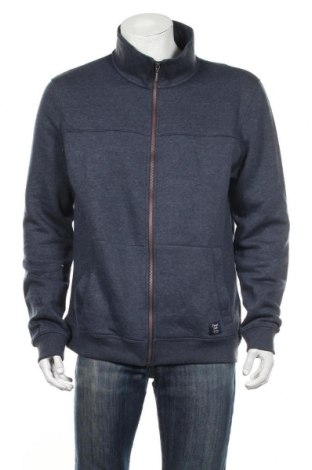 Мъжко спортно горнище Tom Tailor, Размер XL, Цвят Син, 70% памук, 30% полиестер, Цена 37,44лв.