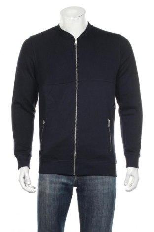 Мъжко спортно горнище Tom Tailor, Размер M, Цвят Син, 100% памук, Цена 42,48лв.