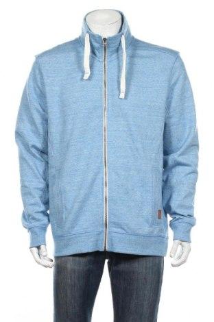 Мъжко спортно горнище Tom Tailor, Размер XL, Цвят Син, 60% памук, 40% полиестер, Цена 42,48лв.