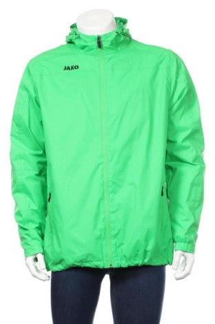 Мъжко спортно яке Jako, Размер L, Цвят Зелен, Цена 37,91лв.