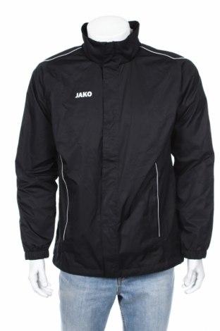 Мъжко спортно яке Jako, Размер M, Цвят Черен, Полиестер, Цена 41,90лв.