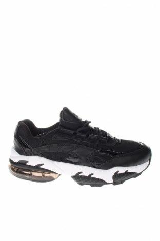 Topánky  PUMA, Veľkosť 40, Farba Čierna, Pravá koža , textil, Cena  55,73€