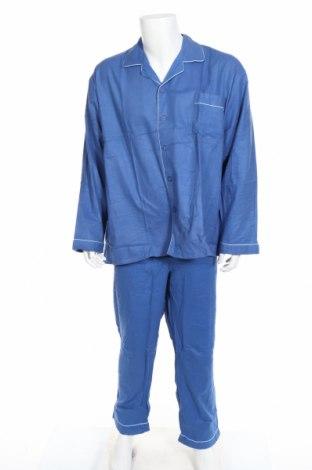 Pyžamo , Rozměr XXL, Barva Modrá, Bavlna, Cena  268,00Kč