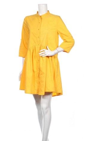 Šaty , Veľkosť L, Farba Žltá, Cena  17,07€