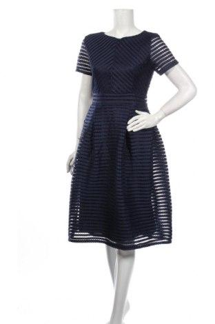 Šaty  Boohoo, Veľkosť M, Farba Modrá, Polyester, Cena  29,32€
