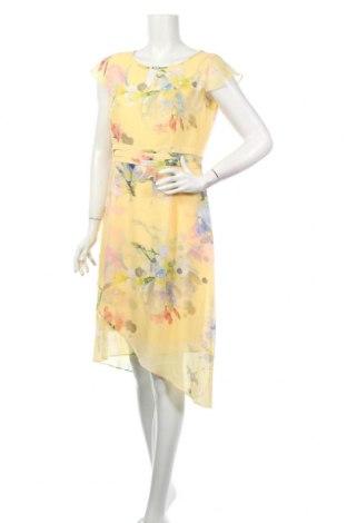 Šaty  Comma,, Veľkosť L, Farba Žltá, Polyester, Cena  76,80€
