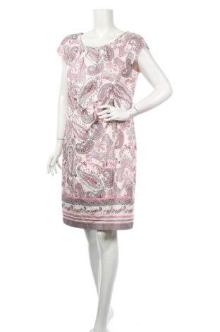 Šaty  Comma,, Veľkosť XL, Farba Ružová, 97% bavlna, 3% elastan, Cena  81,96€