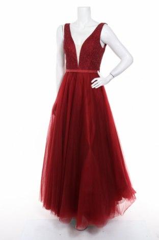 Šaty  Luxuar Limited, Veľkosť S, Farba Červená, Polyester, Cena  66,25€