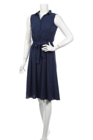 Šaty  Mint & Berry, Veľkosť XS, Farba Modrá, Polyester, Cena  23,75€