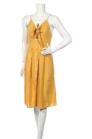 Šaty  Missguided, Veľkosť S, Farba Žltá, Bavlna, Cena  20,04€