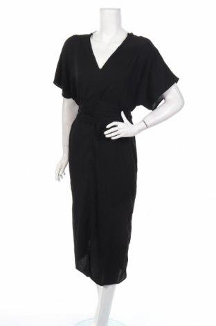 Šaty  Vero Moda, Veľkosť L, Farba Čierna, 95% polyester, 5% elastan, Cena  23,01€