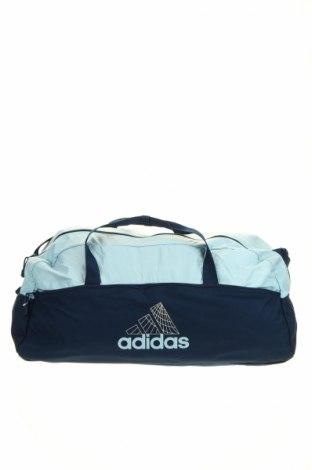 Σακίδιο ταξιδιού Adidas, Χρώμα Μπλέ, Κλωστοϋφαντουργικά προϊόντα, Τιμή 17,15€