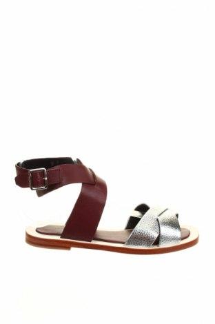 Sandále Mellow Yellow, Veľkosť 37, Farba Fialová, Pravá koža , Cena  48,72€