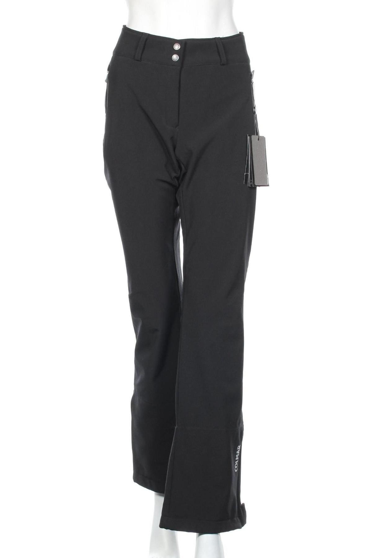 Дамски панталон за зимни спортове Colmar, Размер L, Цвят Черен, 93% полиестер, 7% еластан, Цена 164,50лв.