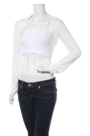 Bolero Aniston, Mărime S, Culoare Alb, 95% viscoză, 5% elastan, Preț 68,68 Lei