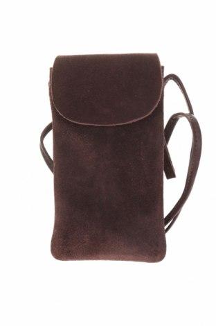 Geantă Outfitters Nation, Culoare Maro, Velur natural, Preț 250,00 Lei