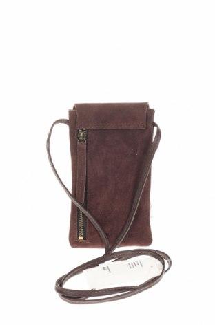 Geantă Outfitters Nation, Culoare Maro, Velur natural, Preț 177,63 Lei
