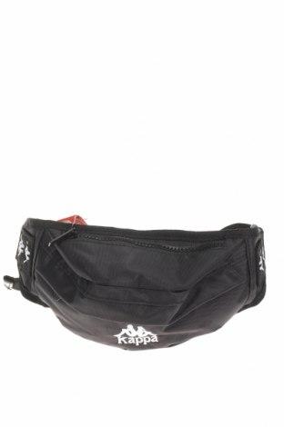 Чанта за кръст Kappa, Цвят Черен, Текстил, Цена 36,75лв.