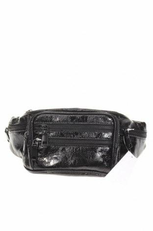 Geantă de brâu Topshop, Culoare Negru, Piele ecologică, Preț 112,57 Lei