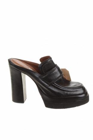 Γυναικείες παντόφλες A.S. 98, Μέγεθος 39, Χρώμα Μαύρο, Γνήσιο δέρμα, Τιμή 42,56€