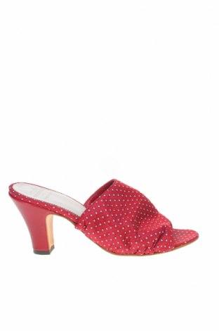 Чехли Pantofola D'oro, Размер 36, Цвят Червен, Текстил, Цена 30,60лв.