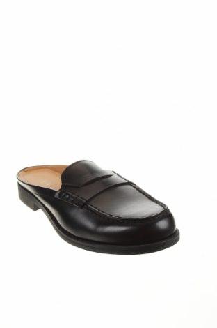 Чехли Zara, Размер 40, Цвят Черен, Еко кожа, Цена 42,72лв.