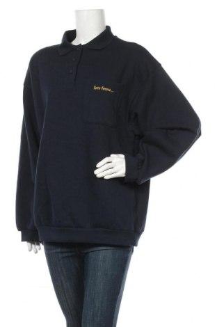 Дамска блуза, Размер M, Цвят Син, Памук, Цена 22,24лв.