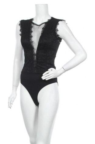 Дамска блуза - боди Wal G, Размер M, Цвят Черен, 95% полиестер, 5% еластан, Цена 34,22лв.