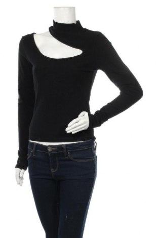 Дамска блуза 4th & Reckless, Размер M, Цвят Черен, 59% полиестер, 33% вискоза, 8% еластан, Цена 25,52лв.