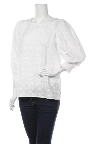 Γυναικεία μπλούζα Cream, Μέγεθος M, Χρώμα Λευκό, Βαμβάκι, Τιμή 29,73€