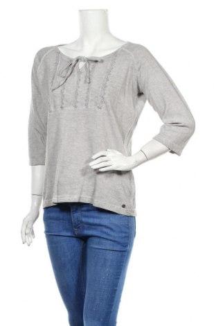 Дамска блуза Driver, Размер M, Цвят Сив, Памук, Цена 5,89лв.