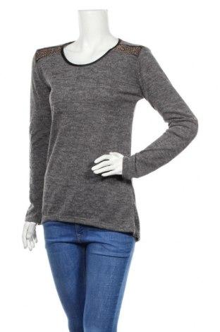Дамска блуза Floyd By Smith, Размер S, Цвят Сив, 95% вискоза, 5% еластан, Цена 16,96лв.