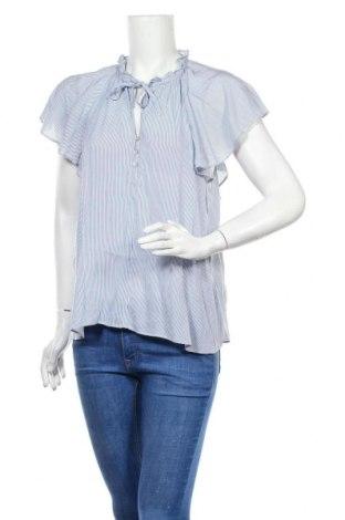 Дамска блуза H&M, Размер M, Цвят Син, Вискоза, Цена 8,80лв.