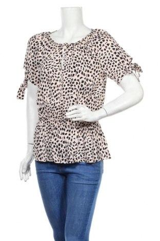 Дамска блуза H&M, Размер M, Цвят Розов, Вискоза, Цена 9,60лв.