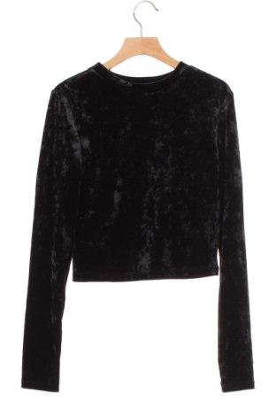Γυναικεία μπλούζα H&M Divided, Μέγεθος XS, Χρώμα Μαύρο, 90% πολυεστέρας, 10% ελαστάνη, Τιμή 9,94€