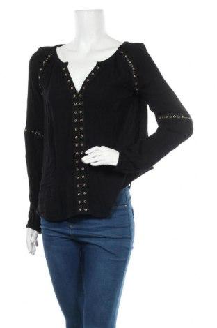 Дамска блуза INC International Concepts, Размер S, Цвят Черен, Вискоза, Цена 42,53лв.