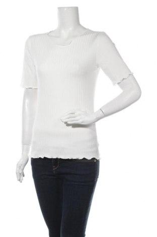 Γυναικεία μπλούζα Kaffe, Μέγεθος M, Χρώμα Λευκό, 92% βισκόζη, 8% ελαστάνη, Τιμή 22,20€