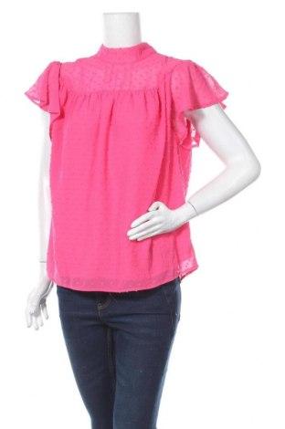 Дамска блуза Kaffe, Размер L, Цвят Розов, Полиестер, Цена 43,07лв.